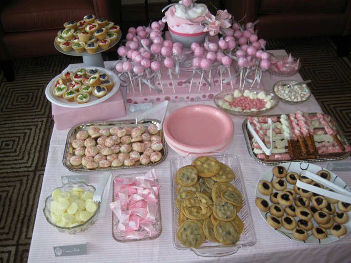 Pink And Gray Baby Shower To Czech And Back